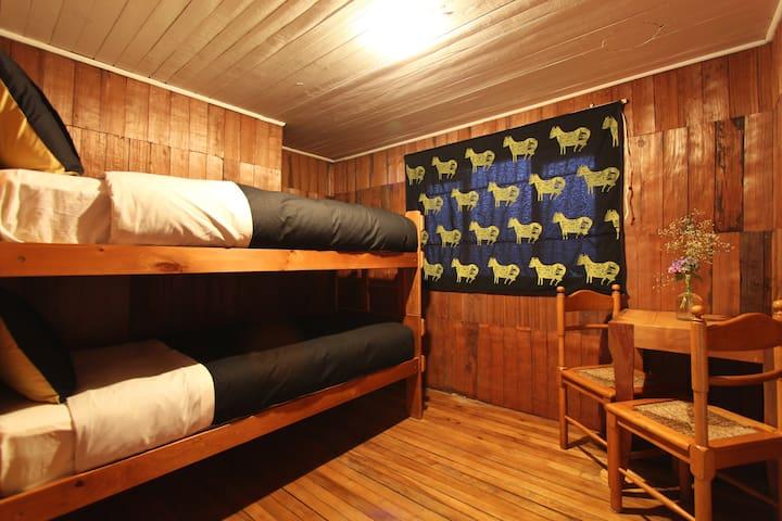 Habitación Compartida: 2 camas en Castro - Castro - Haus