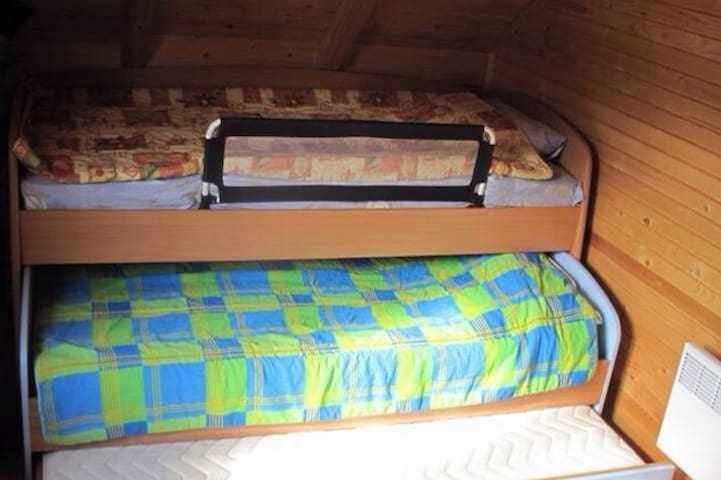 Bedroom where 3 people can sleep