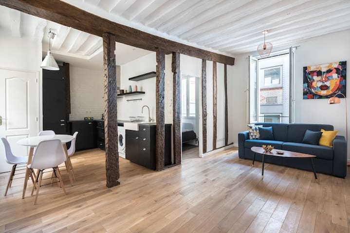 Louvre apartment for 4 persons