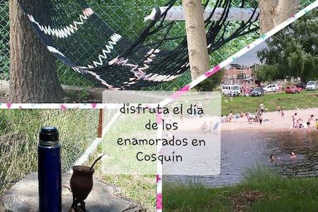 Alquiler temporario, Costanera del Río Cosquín.