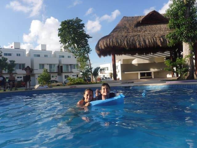 Amplia y cómoda casa en Cancún,