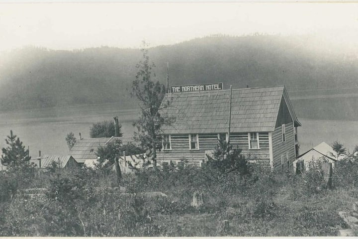 Historic Northern Hotel on Priest Lake:  Four Mile
