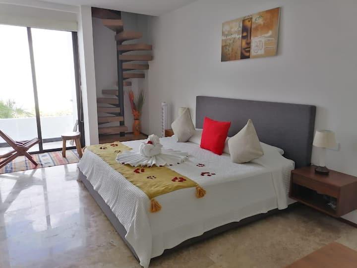 Hermoso Penthouse súper ubicado, terraza-jacuzzi
