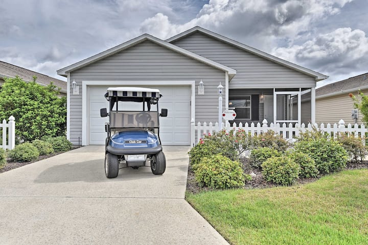 NEW! Updated Villages Cottage w/ Golf Cart Access!