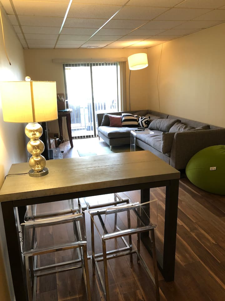 Upscale One Bedroom Condo with Balcony