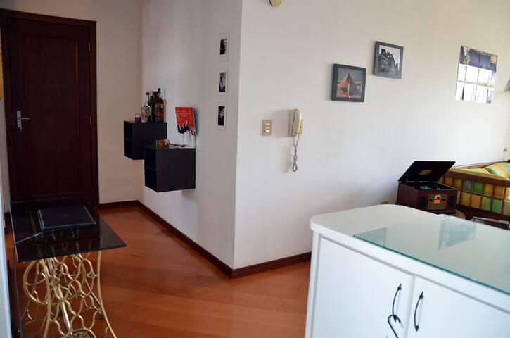 Quarto com vista para o parque Passeio Público - Curitiba - Apartment