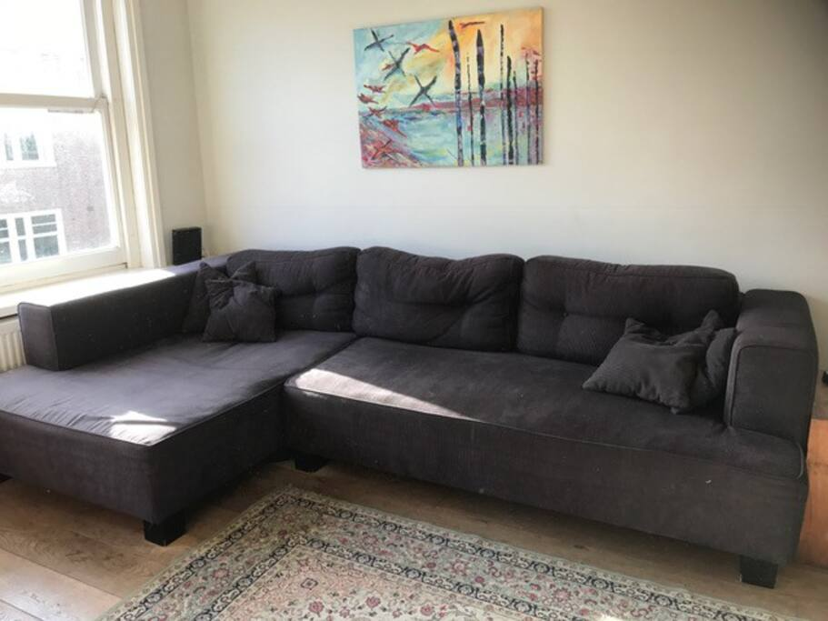 Large relaxing couch