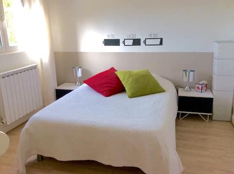 Tichá a pohodlná izba