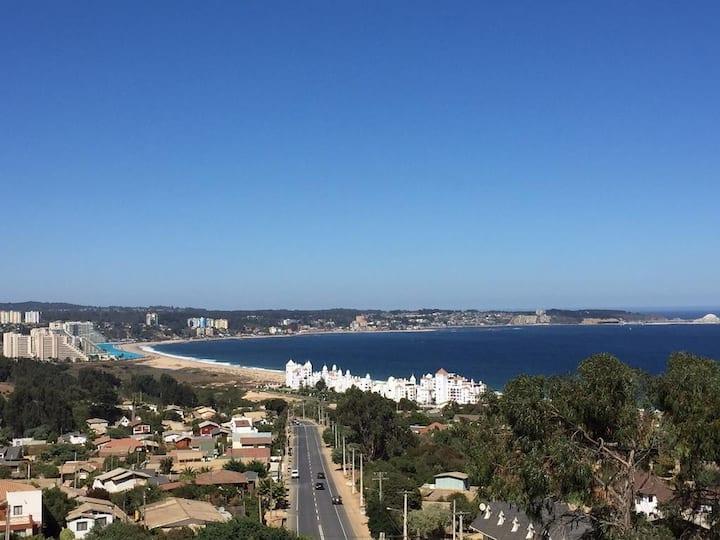 Departamento con vista al mar Algarrobo Mirasol