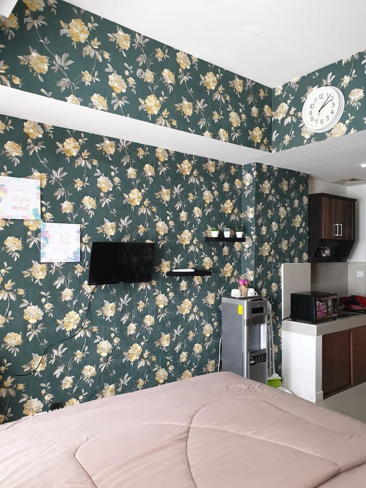 *Best offer*Cosy & new furnished Studio/Vida view