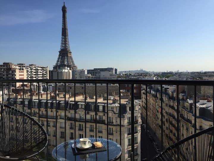 Eiffel Tower - Luxury flat with breathtaking view