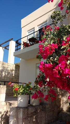 Almirida  view House,Aspro Village, Chania,Crete.
