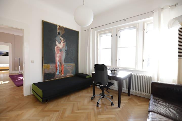 Rosa Villa im Jugendstil - Selb - Apartment