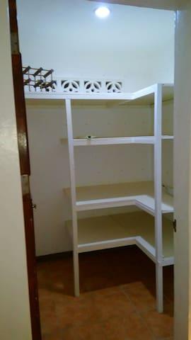 Utility/storage room.