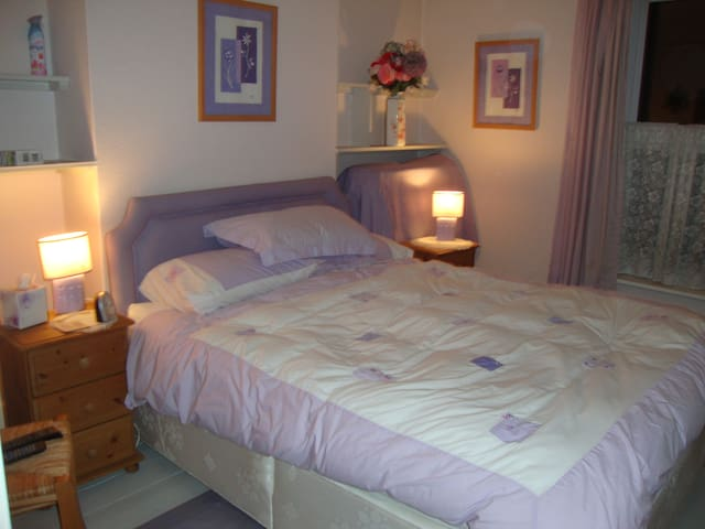 Bright, sunny, kingsize room - Salisbury