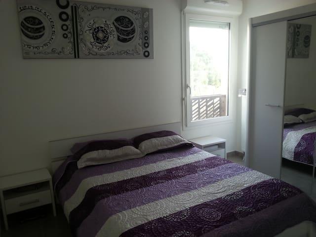 Une chambre moderne et confortable - La Seyne-sur-Mer - Apartamento