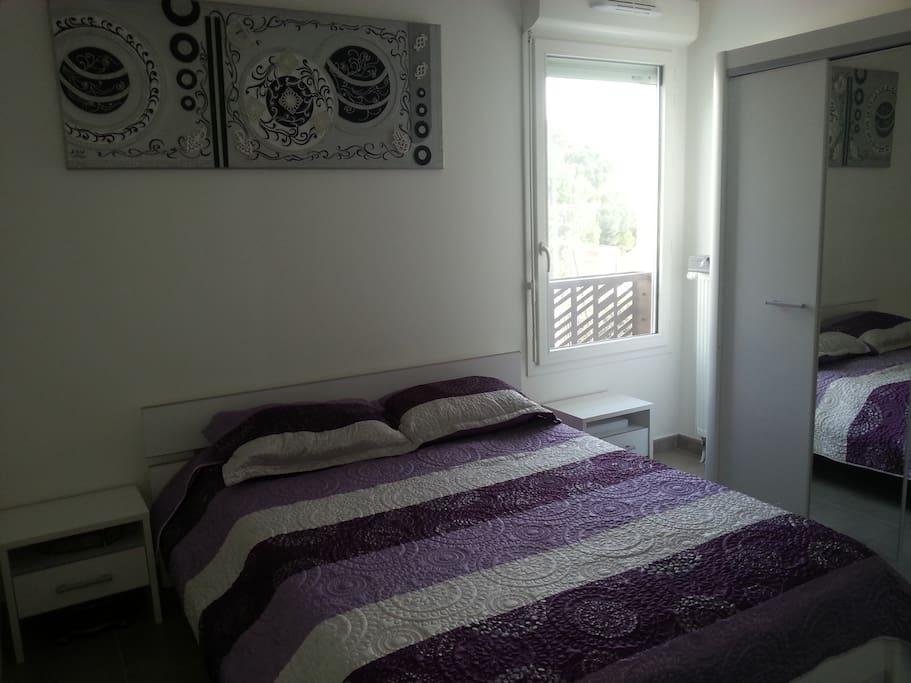 Une chambre moderne et confortable appartements louer - Appartement moderne confortable douillet ...