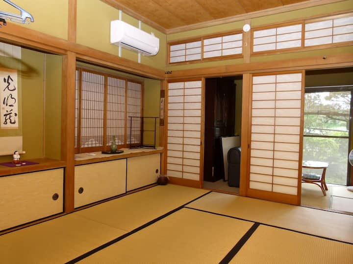 Orihime, a traditional Japanese-style room