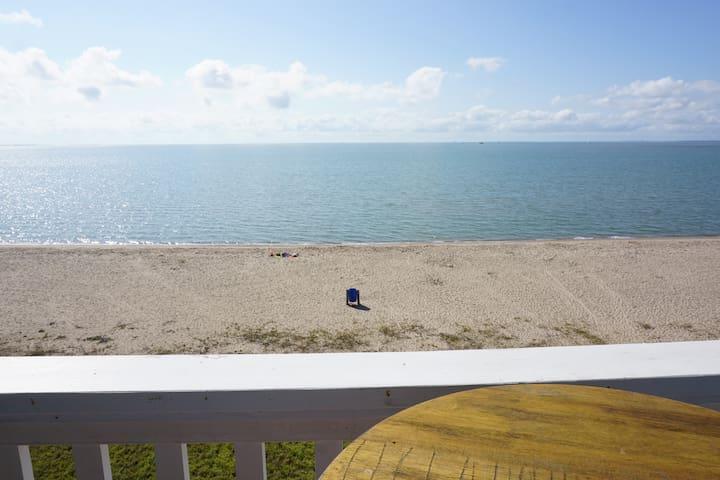 Beautiful beach front views