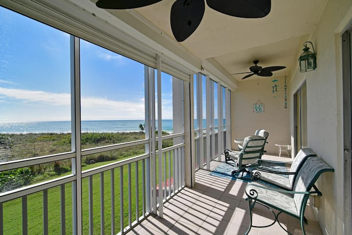 North Longboat Condo on the Gulf with View