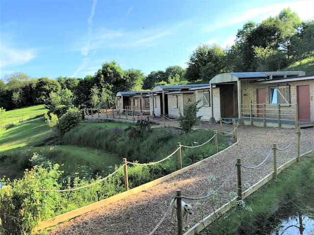 The Bush Camp Lodges at Lydeard Farm