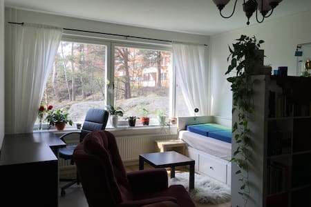Appartment close to nature, sea, 25 min Stockholm - Tyresö - 公寓