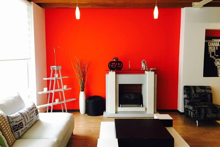 Penthouse en la Narvarte, moderno, tranquilo y ubicado.