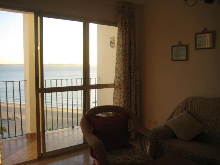 Vistas desde el salon