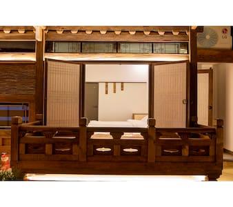 황남별곡 - 최고급 전통한옥 숙박 - 묵지