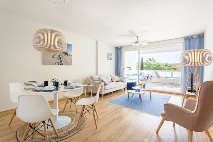 Javea Azul beachy style apartment