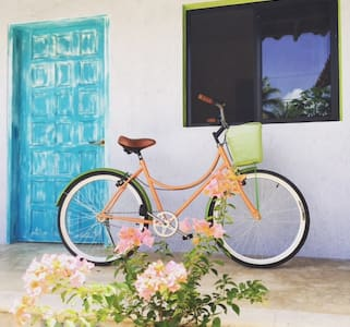 BEAUTIFUL QUEEN STUDIO APT #3@ CASA TOLOC W/ BIKES - Tulum
