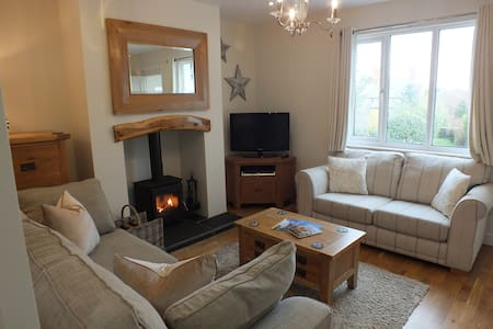 PUFFIN COTTAGE- Cottage in Conwy - luxury features
