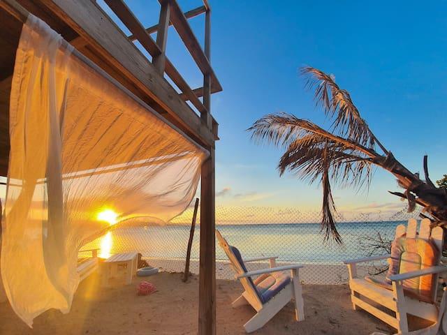 Villa Sol punta rucia, casa Primera Linea de playa