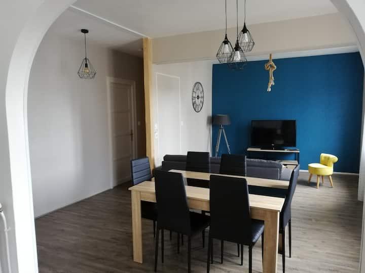 Joli appartement , 200m de la gare de saint brieuc