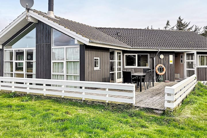 Luxury Holiday Home in Hvide Sande with Sauna