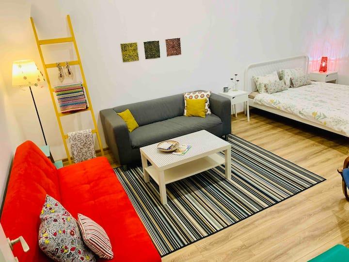 Contemporary Central Apartment near Unirii Square