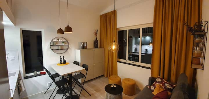 Nybyggt studiohus med hög standard i lugnt område