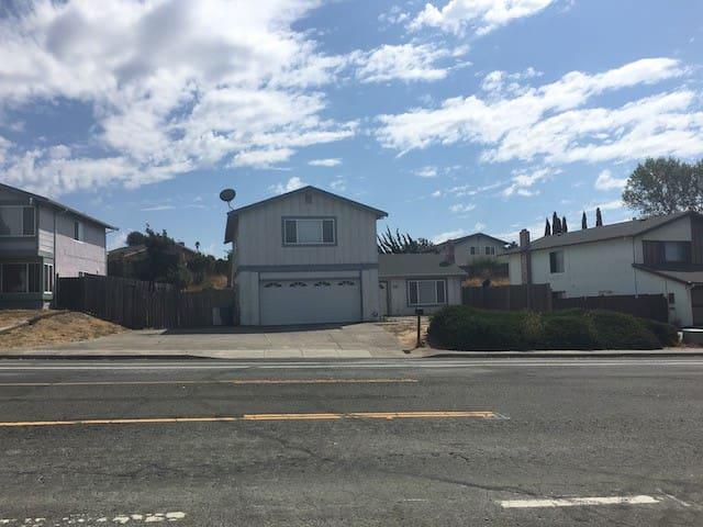 Bay Area Home Between SF & Napa