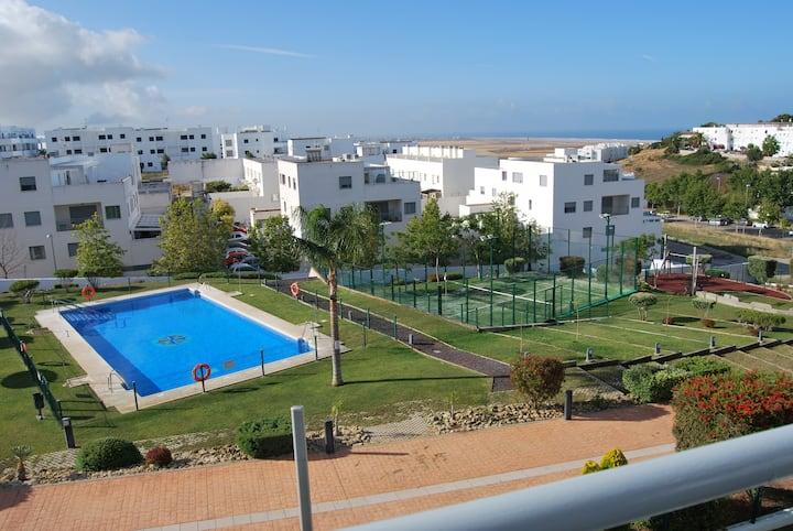 Residencial 8 de Marzo, vistas al mar