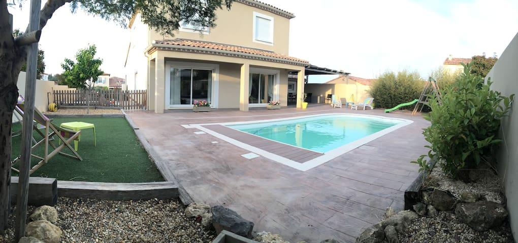 La villa du soleil - Pézenas - Villa