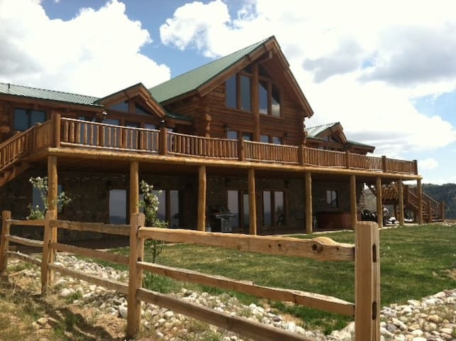 Huge Cabin Zion National Park - Orderville - Casa