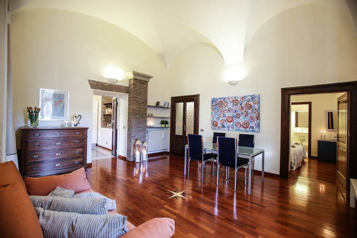 Charming apartment in center - Viterbo - Apartemen
