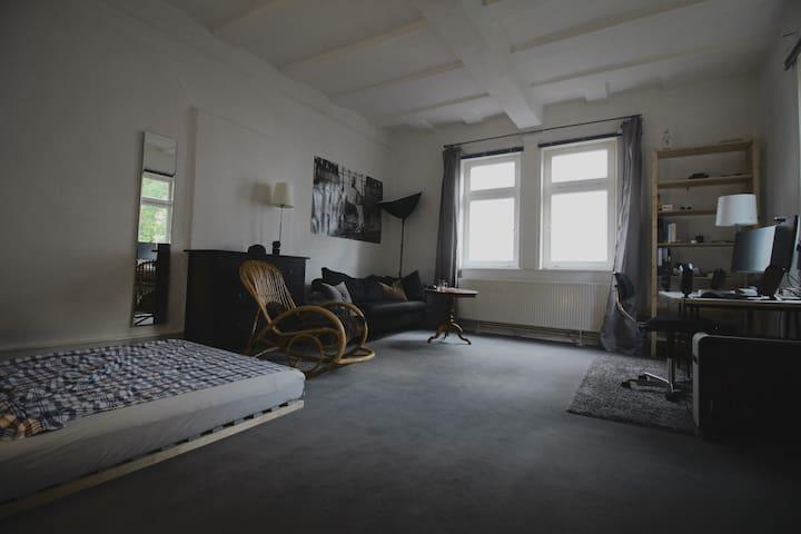 25qm helles Altbauzimmer super Zentral Oberstadt - Marburgo - Apto. en complejo residencial