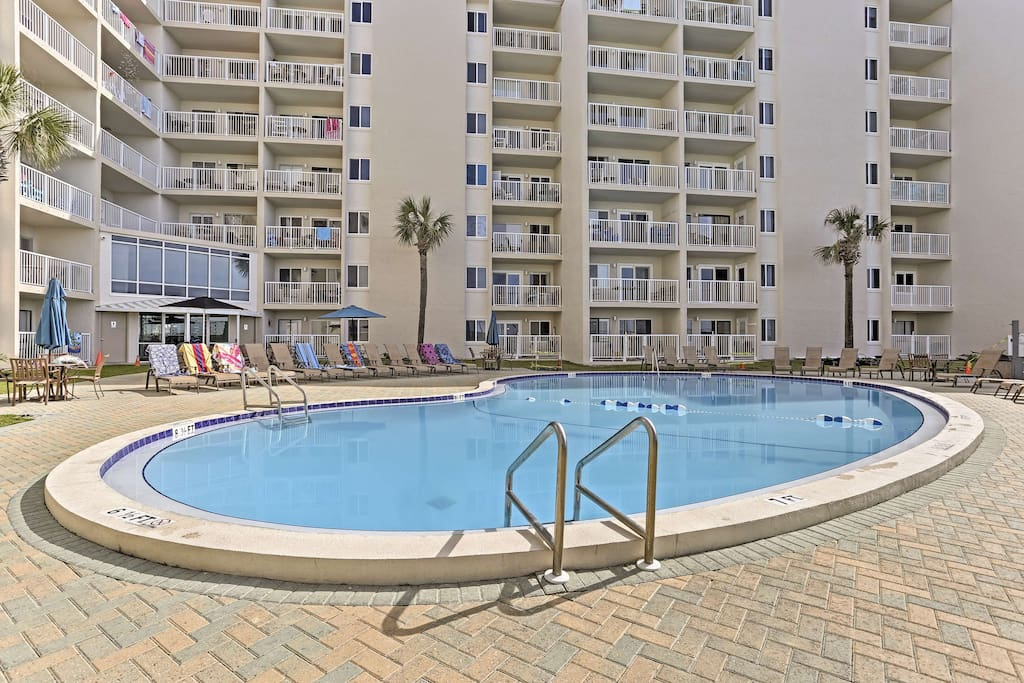 Enjoy access to incredible community amenities and a private beach!
