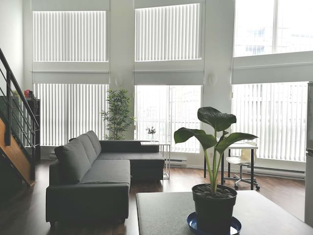 Family Friendly Loft in Downtown Vancouver