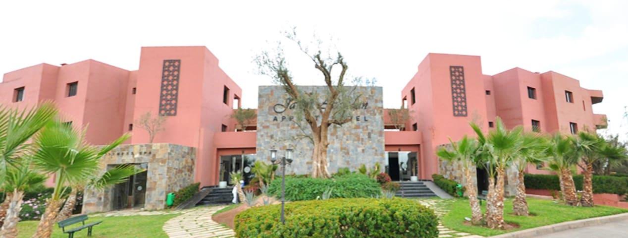 Appart Vue piscine - Ouahat Sidi Brahim - Tatil evi