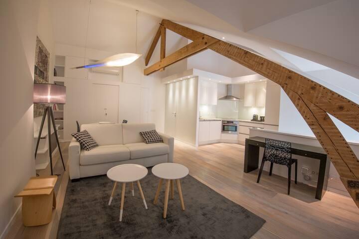 Louise sur Cour B&B  (Suite Noguchi) - Saint-Gilles - Bed & Breakfast