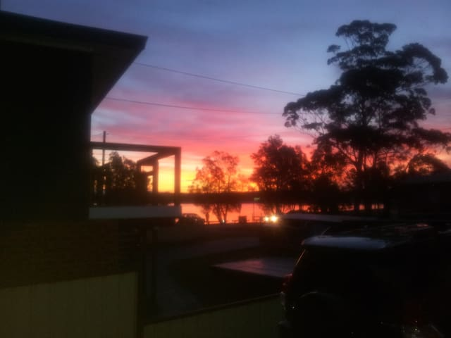 Sunset over The Basin