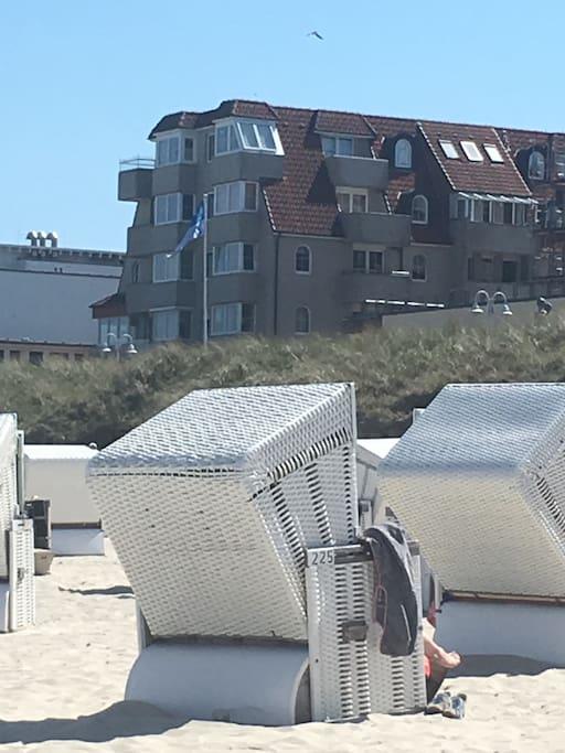 Wohnen direkt am Strand