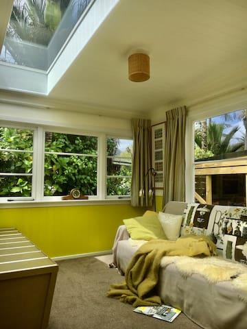 Sunroom with TV/DVD player/NetFlix